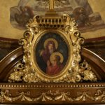 Frame gilding services on altar of St. Cantius Church in Chicago.
